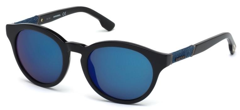 DL 0115 Sunglasses, Colored Havana