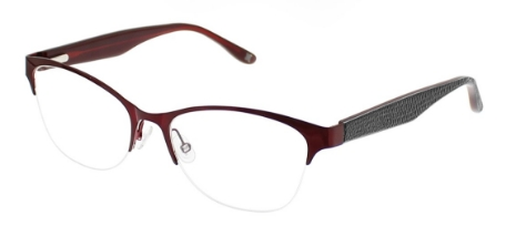 Gloria Eyeglasses, Red