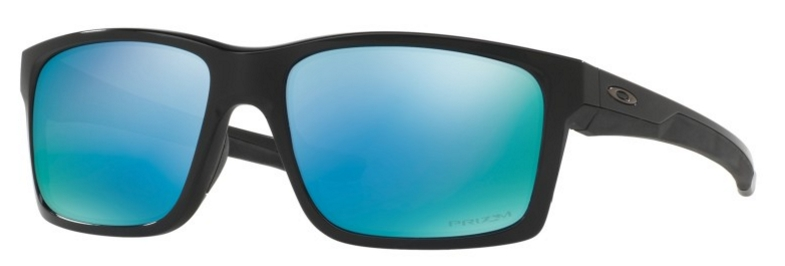 MAINLINK OO 9264 Sunglasses, Polished Black with Polarized Prizm Deep H20 Lenses