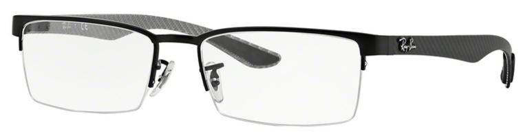 RX 8412 Eyeglasses, Matte Black