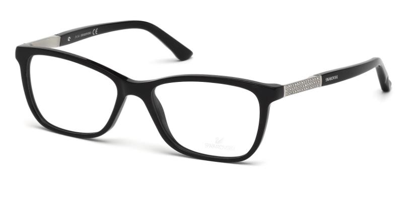 Image of ELINA SK 5117 Eyeglasses, Shiny Black