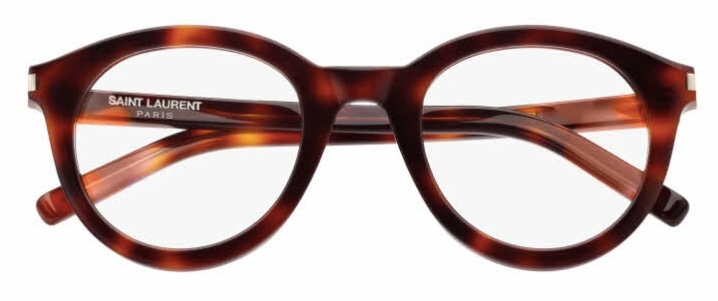 SL 105 Eyeglasses, Havana