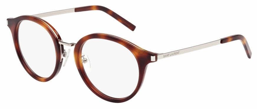 SL 91 Eyeglasses, Havana/Silver