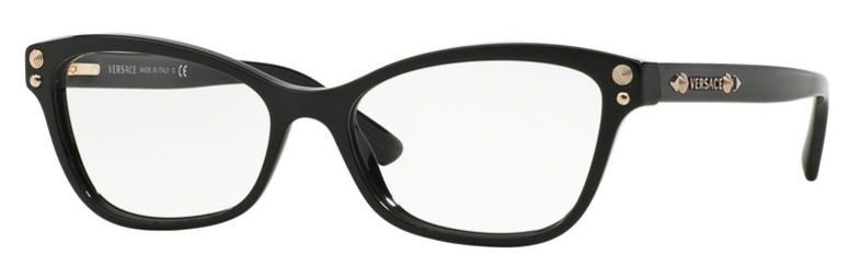 VE 3208 Eyeglasses, Black