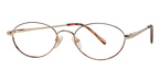 Continental Optical Imports Exclusive 134 Gold/ Brown