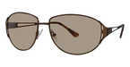 Michael Kors M2026S Dark Brown w/Smoke Fade Lenses