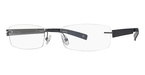 Totally Rimless TR 140 Carbon & Grey