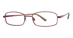 Modern Optical Juneau Burgundy