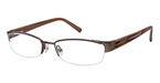 Ted Baker B158 BROWN W/LIGHT BROWN ENDPIECE