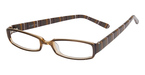 Smilen Eyewear A-List 45 Brn/MultiStripe