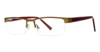 Modern Optical Big Crush Matte Brown