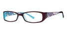 Modern Optical A309 Burgundy/Blue