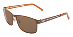 Lacoste L107S SATIN BROWN/ORANGE