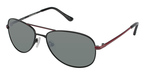 Ted Baker B495 Flyby BLACK W/POLARIZED LENS