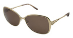 Tura Sun 027 SEMI MATTE LIGHT BROWN /CRYSTAL