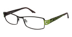 Brendel 902095 DARK BROWN/NEON GREEN
