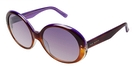 Ted Baker B502 Bonita Brown Purple Horn
