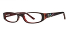 Modern Optical 10x220 Brown/Burgundy