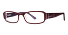 Modern Optical Gala Burgundy/Lilac