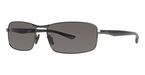 Columbia JET STREAM 400 Shiny Gunm/Black w/ Polarized Grey Lenses
