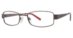 Continental Optical Imports Fregossi 593 Burgundy