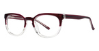 Modern Optical Genius Burgundy/Crystal