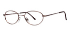 Modern Optical Dawn Satin Brown