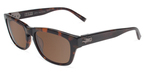 John Varvatos V784 UF Tortoise with Brown Lenses