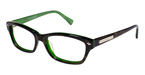 Vince Camuto VO051 Tortoise/Emerald Green