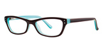 Modern Optical Popsicle Brown/Turquoise