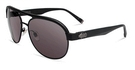 John Varvatos V787 Matte Black with Grey Lenses