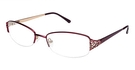 A&A Optical Hadley Burgundy