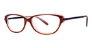 Modern Optical A343 Brown/Plum