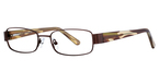 Continental Optical Imports Fregossi 608 Brown