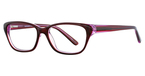 Continental Optical Imports Fregossi 396 Burgundy