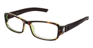 Nicole Miller Canal Tortoise/Brown