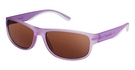 Columbia MIRROR LAKE Matte Translucent whitened violet w/ Polarized Brown Lenses