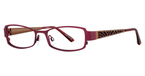 Vivian Morgan 8015 Burgundy/Bronze