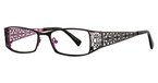 Vivian Morgan 8031 Black/Fuchsia