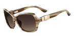 Salvatore Ferragamo SF657SL (279) Striped Beige