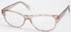 Chakra Eyewear AJ Morgan 69070 Crystal/Brown Crackle +2.50