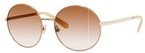 Kate Spade Avice Rose Gold with Brown Pink Gradient Lenses