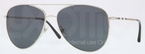 Burberry BE3072 Silver with Polarized Grey Lenses