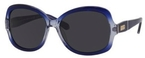 Kate Spade Carlene/P/S Blue Crystal Fade with Grey Polarized Lenses