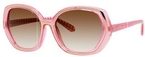 Kate Spade Dafina Pink Gingham with Brown Gradient Lenses