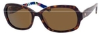 Kate Spade Darya Tortoise Floral with Dark Brown Polarized Lenses