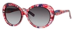 Kate Spade Doriane Pink Watercolor with Gray Gradient Lenses