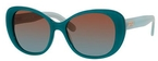 Kate Spade Emery Green/Seaglass with Brown Green Shaded Lenses