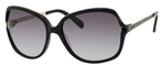 Kate Spade Evette Black with Gray Gradient Lenses