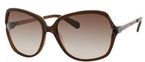 Kate Spade Evette Brown with Brown Gradient Lenses